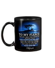 I LOVE YOU -  MY FIANCE Mug back