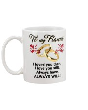 To My Fiance Mug back