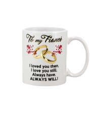 To My Fiance Mug front