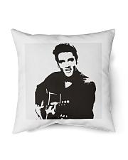 "elvis the king Indoor Pillow - 16"" x 16"" back"