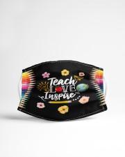 Teach Love Inspire Cloth face mask aos-face-mask-lifestyle-22