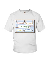 Small Hands Change The World 2 Youth T-Shirt thumbnail