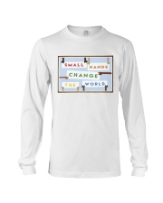 Small Hands Change The World 2 Long Sleeve Tee thumbnail
