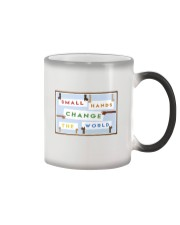 Small Hands Change The World 2 Color Changing Mug thumbnail