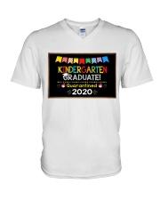 Kindergarten Graduation  V-Neck T-Shirt thumbnail