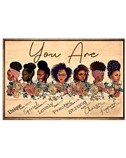 You Are 1 17x11 Poster front