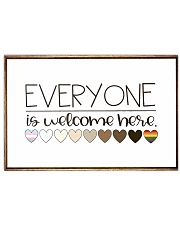 Welcome everyone 17x11 Poster front