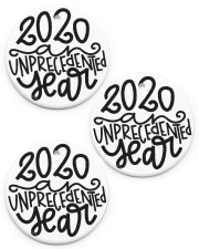2020 unpercedented year Circle ornament - 3 pieces (porcelain) front