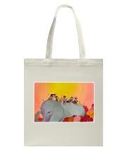 Elephant and Kids Tote Bag tile