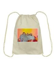 Elephant and Kids Drawstring Bag tile