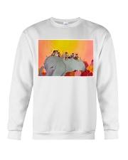 Elephant and Kids Crewneck Sweatshirt tile
