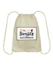 Diversity is our strength Drawstring Bag thumbnail