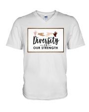 Diversity is our strength V-Neck T-Shirt thumbnail