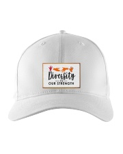 Diversity is our strength Embroidered Hat thumbnail