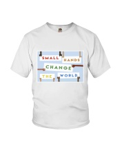 Small hands change the world Youth T-Shirt thumbnail