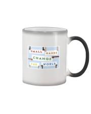 Small hands change the world Color Changing Mug thumbnail
