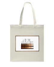 Be the change Tote Bag thumbnail
