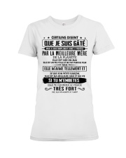 I love and be protected by the best mother 5 Premium Fit Ladies Tee tile