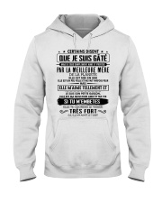 I love and be protected by the best mother 5 Hooded Sweatshirt tile