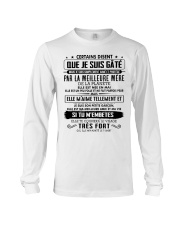 I love and be protected by the best mother 5 Long Sleeve Tee tile
