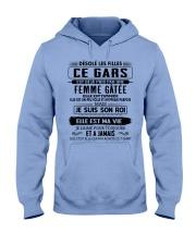 Cadeau parfait pour vos proches - ELLE EST TATOUEE Hooded Sweatshirt thumbnail