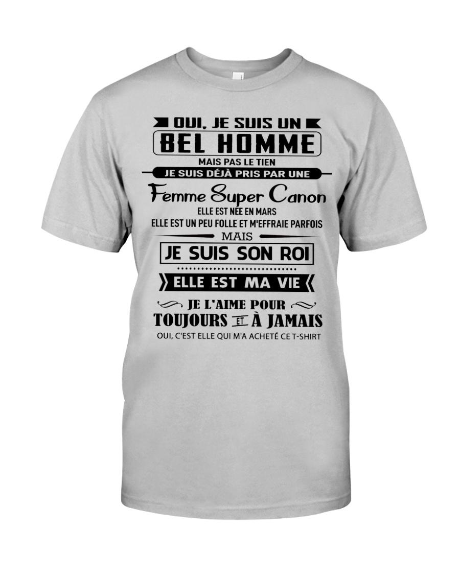 Obtenez des cadeaux parfaits pour mari - 03 Classic T-Shirt