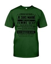 Cadeau parfait pour le mari D2 Classic T-Shirt tile