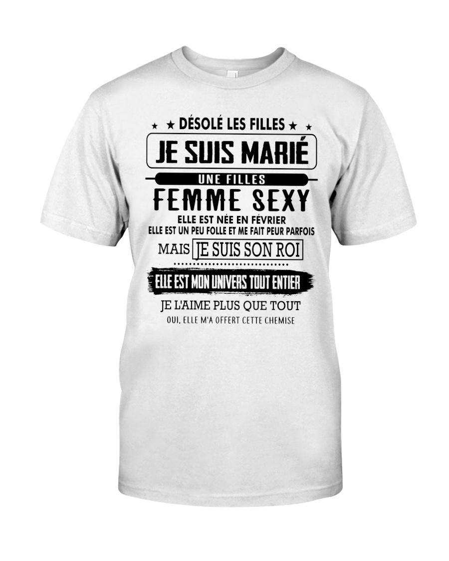 Cadeau parfait pour le mari D2 Classic T-Shirt