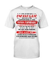 Cadeau pour fille - C09 septembre Classic T-Shirt front