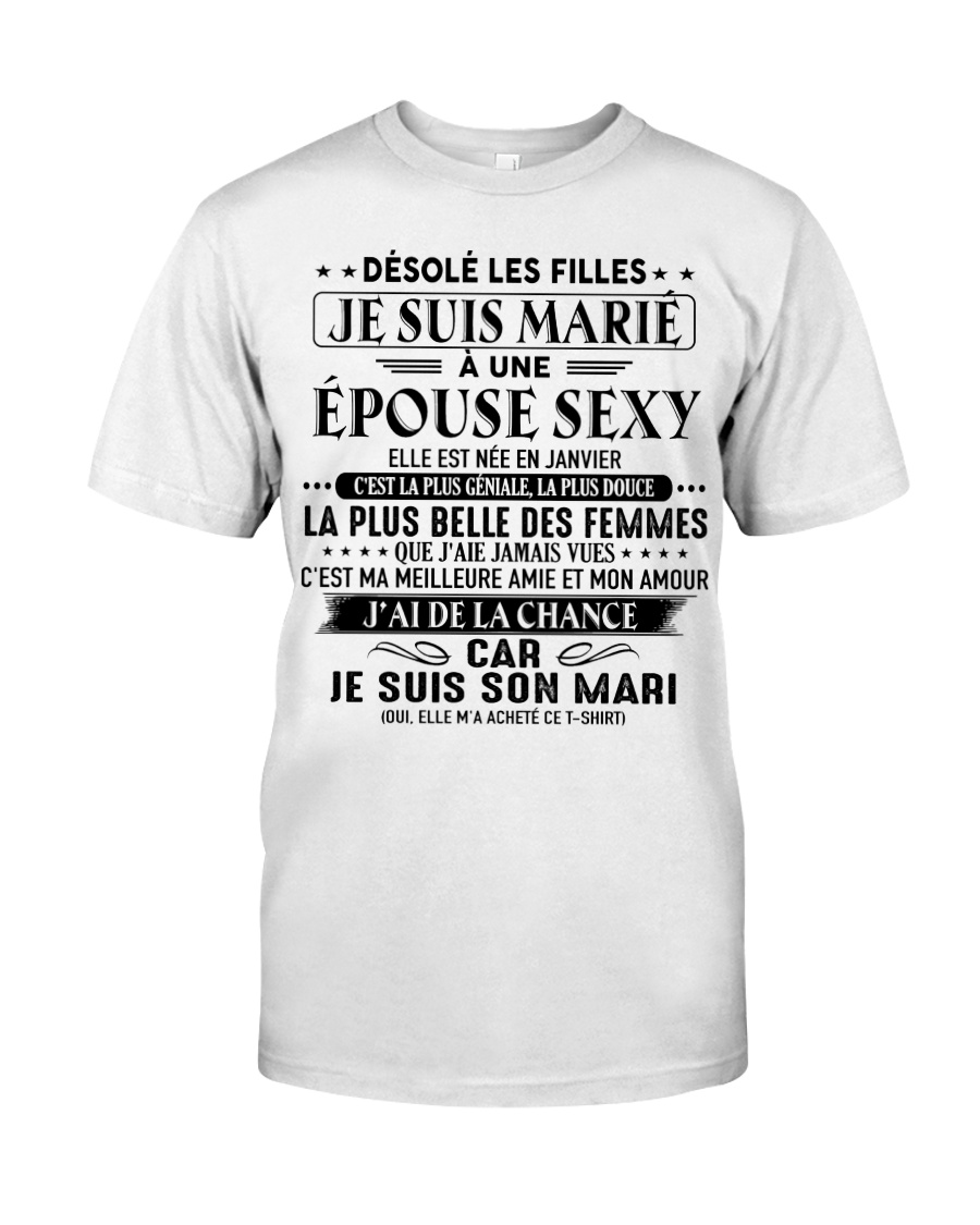 cadeau pour mari-A01 Classic T-Shirt