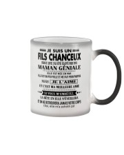 Cadeau spécial pour fils - Kun 05 Color Changing Mug tile