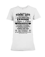 I married a super hot woman-W 11 Premium Fit Ladies Tee tile