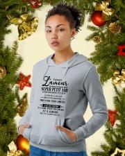Cadeau spécial pour petite amie - 00 Hooded Sweatshirt lifestyle-holiday-hoodie-front-4