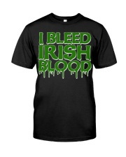 I Bleed Irish Blood Ireland Pride Classic T-Shirt thumbnail