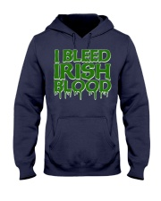 I Bleed Irish Blood Ireland Pride Hooded Sweatshirt thumbnail