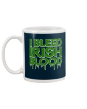 I Bleed Irish Blood Ireland Pride Mug back
