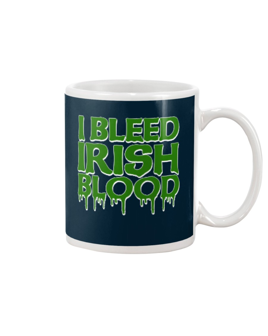 I Bleed Irish Blood Ireland Pride Mug