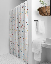 Gorgeous curtains in attractive color Shower Curtain aos-shower-curtains-71x74-lifestyle-front-03