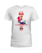 STOP bullies Ladies T-Shirt tile