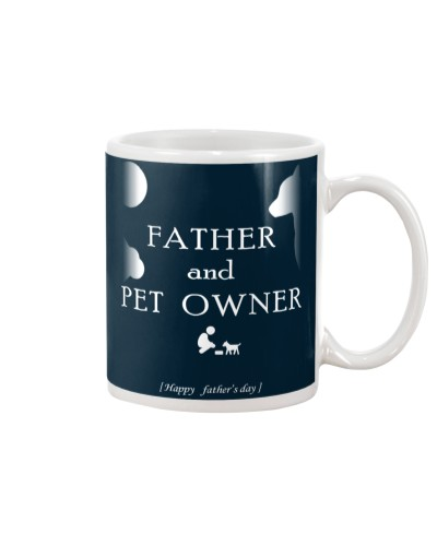 Father and pet owner