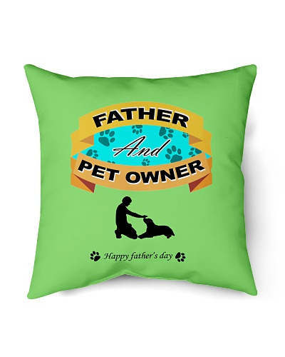 Father and pet owner father's day gifts
