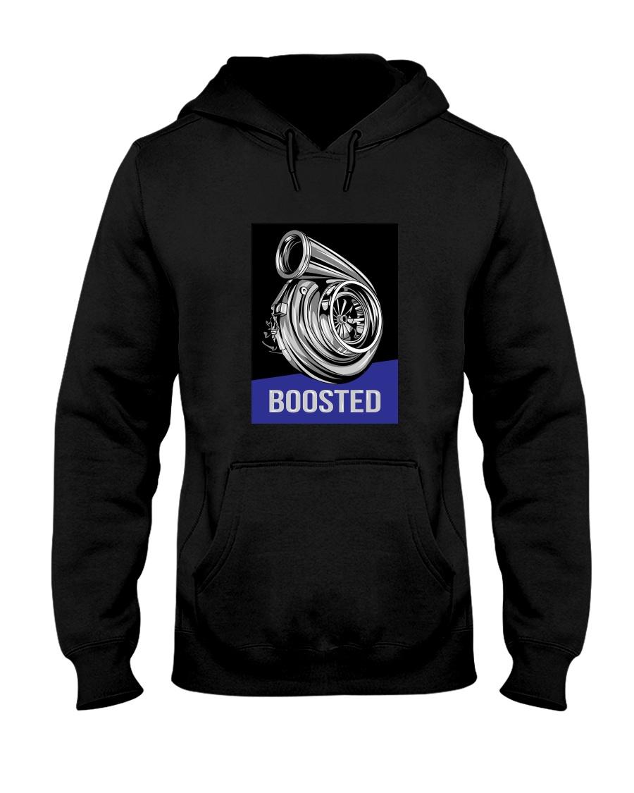 Turbocharger - Boosted Hooded Sweatshirt
