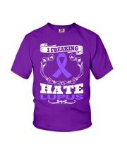 I freaking hate Lupus T-shirt Youth T-Shirt thumbnail