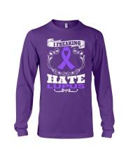 I freaking hate Lupus T-shirt Long Sleeve Tee thumbnail