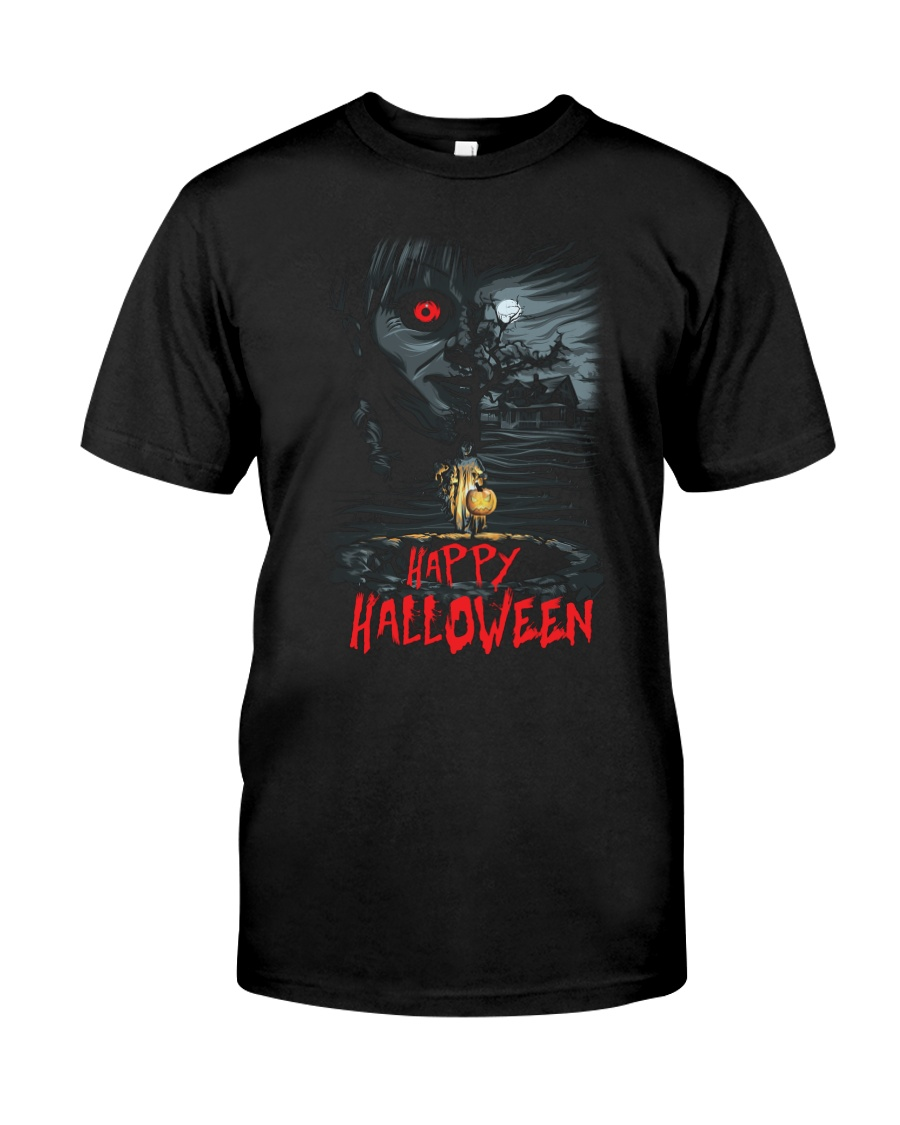 Happy Halloween Annabelle Premium Fit Mens Tee