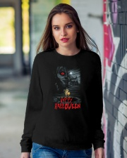 Happy Halloween Annabelle Crewneck Sweatshirt lifestyle-unisex-sweatshirt-front-9