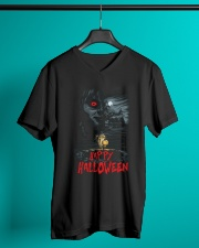 Happy Halloween Annabelle V-Neck T-Shirt lifestyle-mens-vneck-front-3