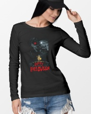 Happy Halloween Annabelle Long Sleeve Tee lifestyle-unisex-longsleeve-front-4