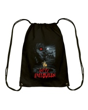 Happy Halloween Annabelle Drawstring Bag thumbnail