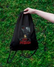 Happy Halloween Annabelle Drawstring Bag lifestyle-drawstringbag-front-3
